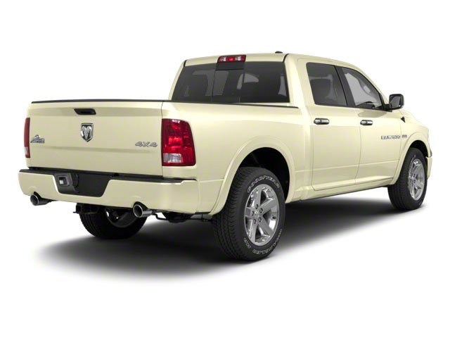 White Gold 2011 Ram Truck 1500 Pictures 1500 Crew Cab SLT 4WD photos rear view