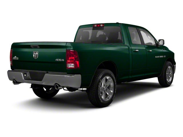 Hunter Green Pearl 2011 Ram Truck 1500 Pictures 1500 Quad Cab SLT 4WD photos rear view