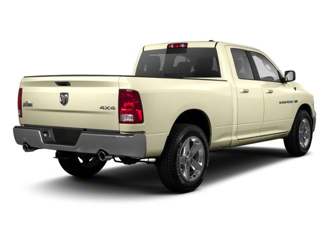 White Gold 2011 Ram Truck 1500 Pictures 1500 Quad Cab SLT 4WD photos rear view