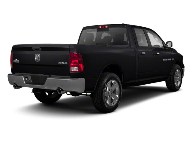 Brilliant Black Crystal Pearl 2011 Ram Truck 1500 Pictures 1500 Quad Cab Outdoorsman 2WD photos rear view