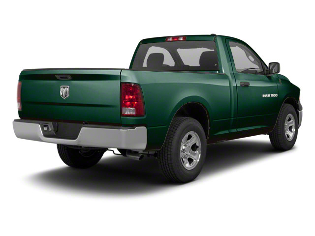 Hunter Green Pearl 2011 Ram Truck 1500 Pictures 1500 Regular Cab Outdoorsman 4WD photos rear view