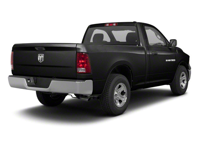 Brilliant Black Crystal Pearl 2011 Ram Truck 1500 Pictures 1500 Regular Cab Outdoorsman 4WD photos rear view