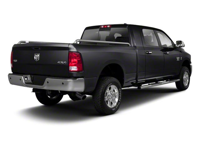 Brilliant Black Crystal Pearl 2011 Ram Truck 2500 Pictures 2500 Mega Cab Longhorn 4WD photos rear view
