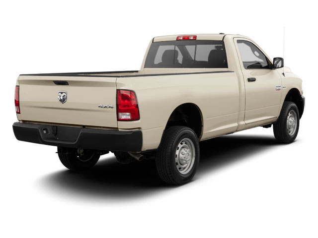 Light Cream 2011 Ram Truck 2500 Pictures 2500 Regular Cab ST 4WD photos rear view