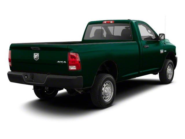 Hunter Green Pearl 2011 Ram Truck 2500 Pictures 2500 Regular Cab ST 4WD photos rear view