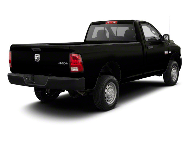 Black 2011 Ram Truck 2500 Pictures 2500 Regular Cab ST 4WD photos rear view