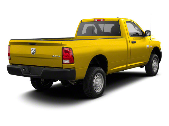 Detonator Yellow 2011 Ram Truck 2500 Pictures 2500 Regular Cab ST 4WD photos rear view