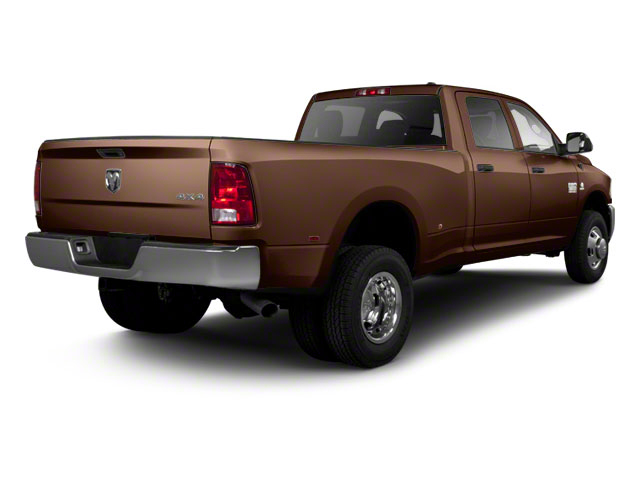 Dark Brown 2011 Ram Truck 3500 Pictures 3500 Crew Cab SLT 2WD photos rear view