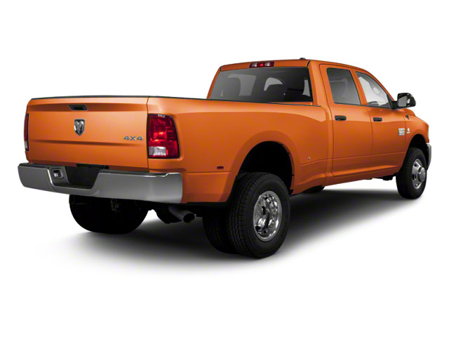 Omaha Orange 2011 Ram Truck 3500 Pictures 3500 Crew Cab SLT 2WD photos rear view