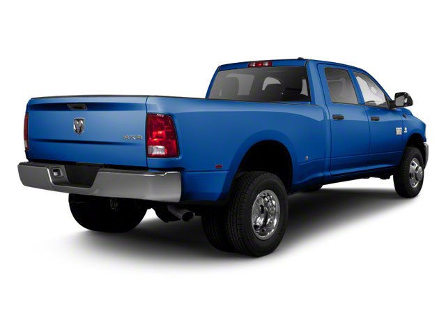 Deep Water Blue Pearl 2011 Ram Truck 3500 Pictures 3500 Crew Cab Laramie 4WD photos rear view