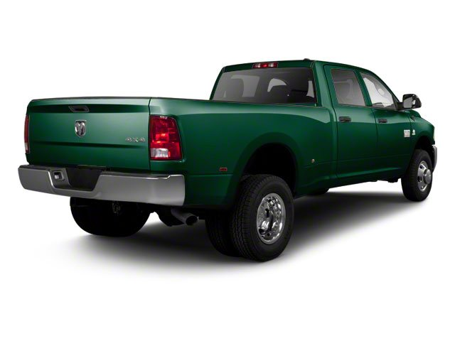 Hunter Green Pearl 2011 Ram Truck 3500 Pictures 3500 Crew Cab Laramie 4WD photos rear view