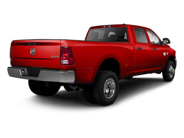 Flame Red 2011 Ram Truck 3500 Pictures 3500 Crew Cab Laramie 4WD photos rear view