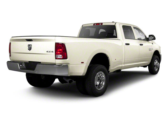 White Gold 2011 Ram Truck 3500 Pictures 3500 Crew Cab Laramie 4WD photos rear view