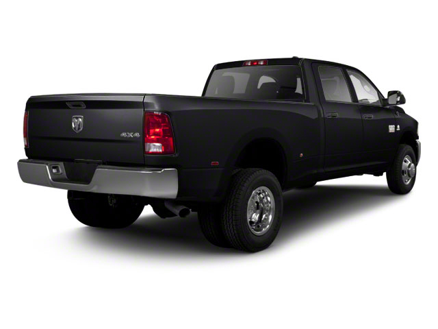 Black 2011 Ram Truck 3500 Pictures 3500 Crew Cab SLT 2WD photos rear view