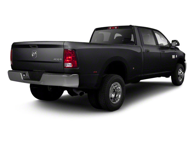 Brilliant Black Crystal Pearl 2011 Ram Truck 3500 Pictures 3500 Crew Cab Laramie 4WD photos rear view
