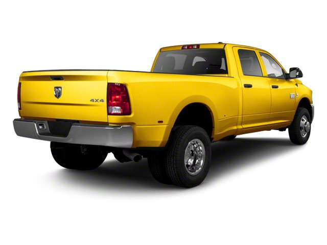 Detonator Yellow 2011 Ram Truck 3500 Pictures 3500 Crew Cab SLT 2WD photos rear view