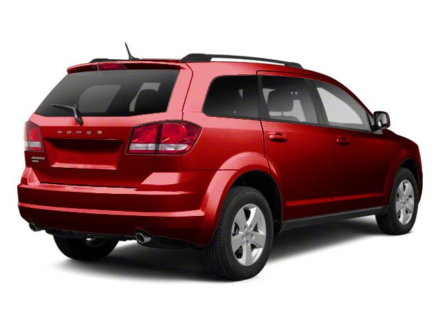 Deep Cherry Red Crystal Pearl 2011 Dodge Journey Pictures Journey Utility 4D Crew 2WD photos rear view