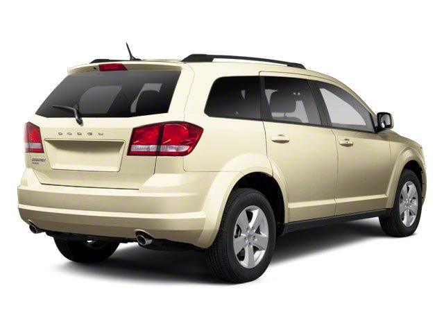White Gold 2011 Dodge Journey Pictures Journey Utility 4D Crew 2WD photos rear view