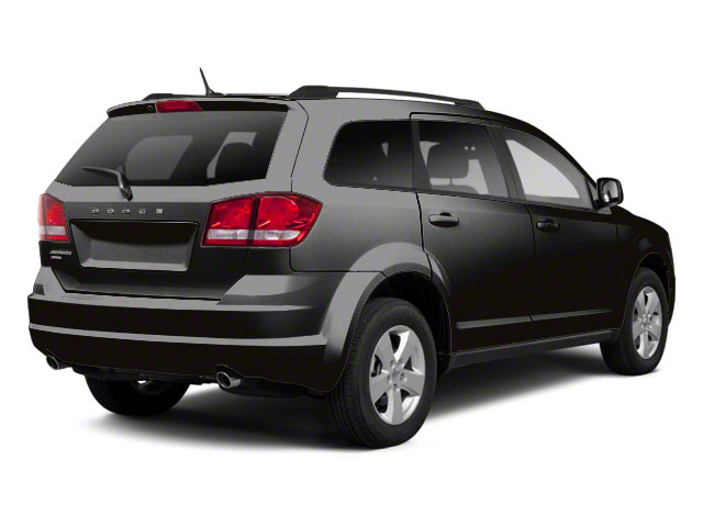Brilliant Black Crystal Pearl 2011 Dodge Journey Pictures Journey Utility 4D Crew 2WD photos rear view