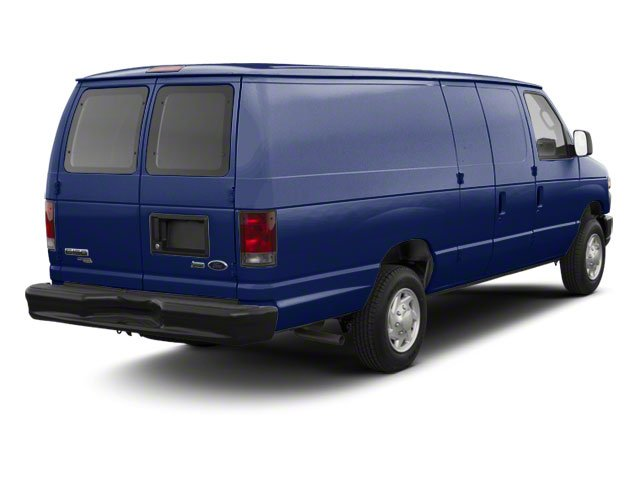 Dark Blue Pearl Metallic 2011 Ford Econoline Wagon Pictures Econoline Wagon Super Duty Extended Wagon XLT photos rear view