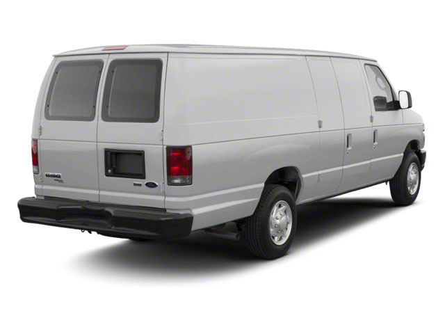 Ingot Silver Metallic 2011 Ford Econoline Wagon Pictures Econoline Wagon Super Duty Extended Wagon XLT photos rear view