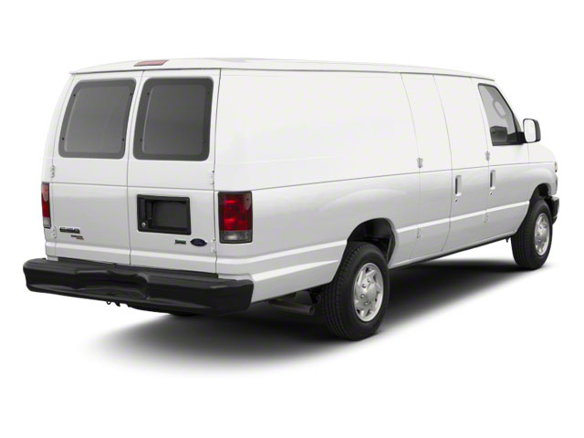 Oxford White 2011 Ford Econoline Wagon Pictures Econoline Wagon Super Duty Extended Wagon XLT photos rear view