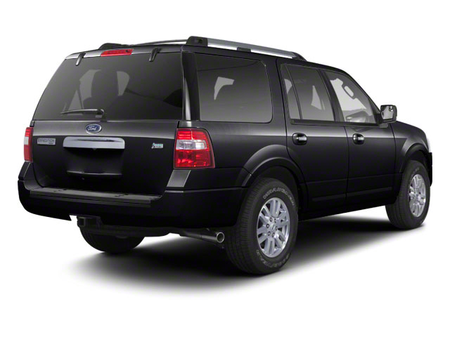 Tuxedo Black Metallic 2011 Ford Expedition Pictures Expedition Utility 4D King Ranch 2WD photos rear view
