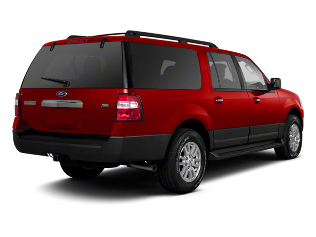 Vermillion Red 2011 Ford Expedition EL Pictures Expedition EL Utility 4D XL 4WD photos rear view