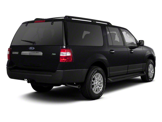 Black 2011 Ford Expedition EL Pictures Expedition EL Utility 4D XL 4WD photos rear view