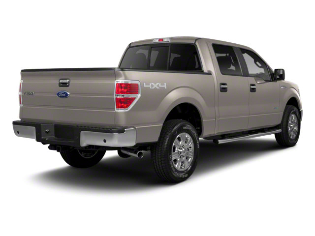 White Platinum Metallic Tri-Coat 2011 Ford F-150 Pictures F-150 SuperCrew King Ranch 2WD photos rear view