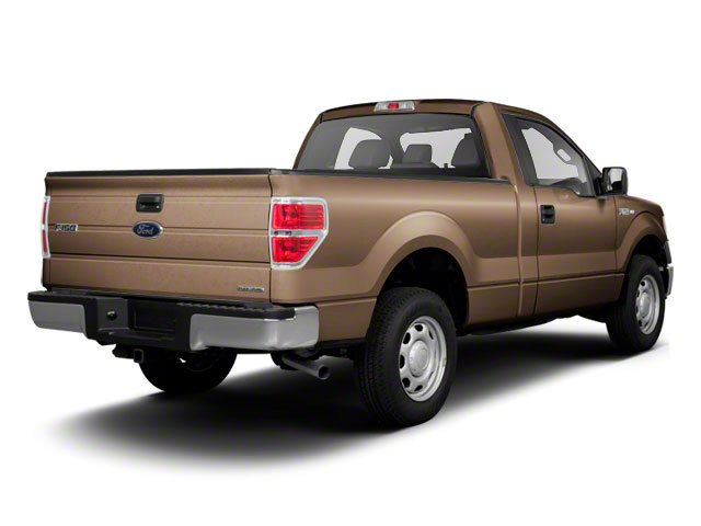 Pale Adobe Metallic 2011 Ford F-150 Pictures F-150 Regular Cab XLT 2WD photos rear view