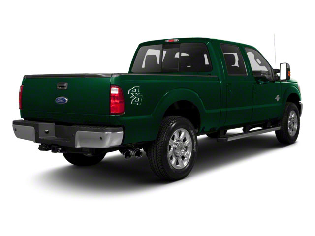 Forest Green Metallic 2011 Ford Super Duty F-250 SRW Pictures Super Duty F-250 SRW Crew Cab XLT 2WD photos rear view