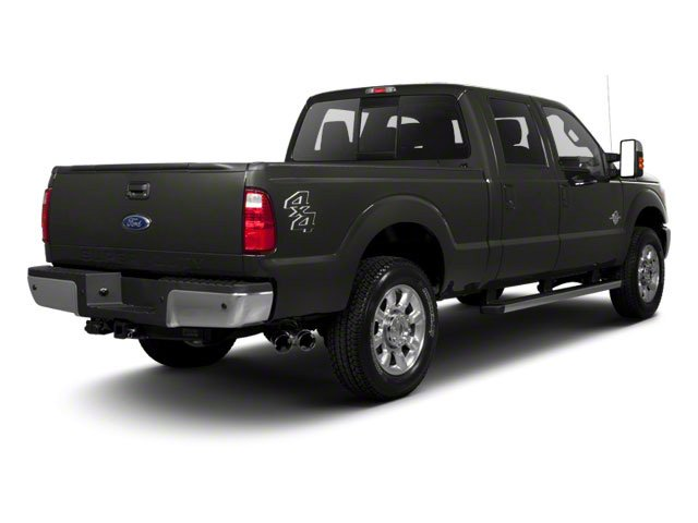 Sterling Gray Metallic 2011 Ford Super Duty F-250 SRW Pictures Super Duty F-250 SRW Crew Cab XLT 2WD photos rear view