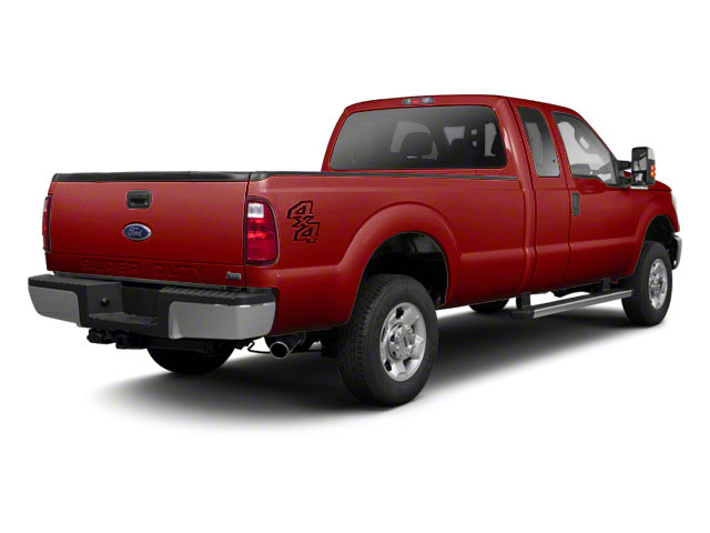 Vermillion Red 2011 Ford Super Duty F-250 SRW Pictures Super Duty F-250 SRW Supercab XL 2WD photos rear view