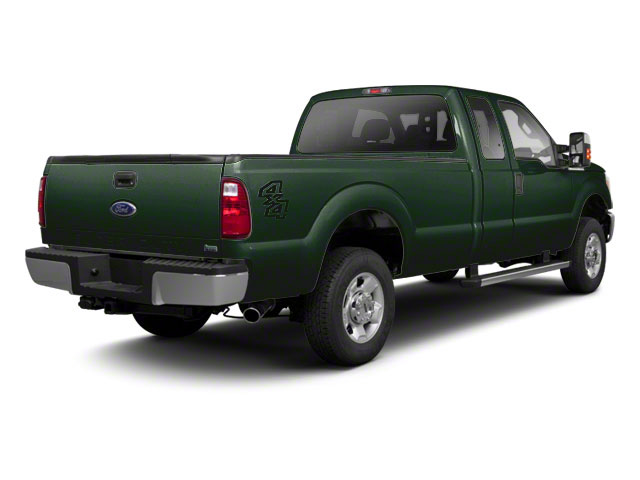 Forest Green Metallic 2011 Ford Super Duty F-250 SRW Pictures Super Duty F-250 SRW Supercab XL 2WD photos rear view