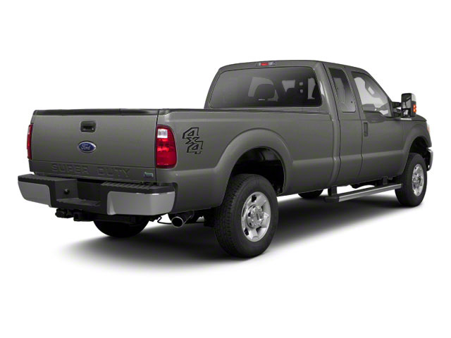 Sterling Gray Metallic 2011 Ford Super Duty F-250 SRW Pictures Super Duty F-250 SRW Supercab XL 2WD photos rear view