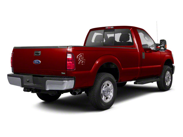 Vermillion Red 2011 Ford Super Duty F-250 SRW Pictures Super Duty F-250 SRW Regular Cab XL 4WD photos rear view