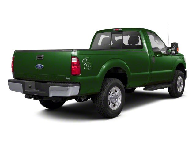 Forest Green Metallic 2011 Ford Super Duty F-250 SRW Pictures Super Duty F-250 SRW Regular Cab XL 4WD photos rear view