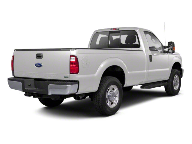 Oxford White 2011 Ford Super Duty F-250 SRW Pictures Super Duty F-250 SRW Regular Cab XL 4WD photos rear view