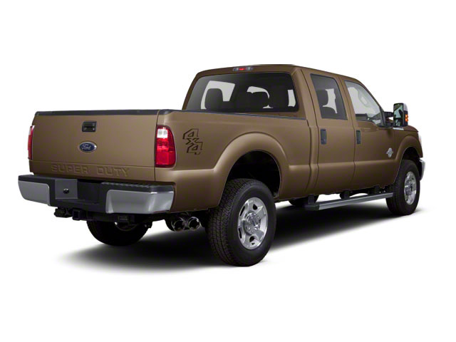 Pale Adobe Metallic 2011 Ford Super Duty F-350 DRW Pictures Super Duty F-350 DRW Crew Cab XL 2WD photos rear view