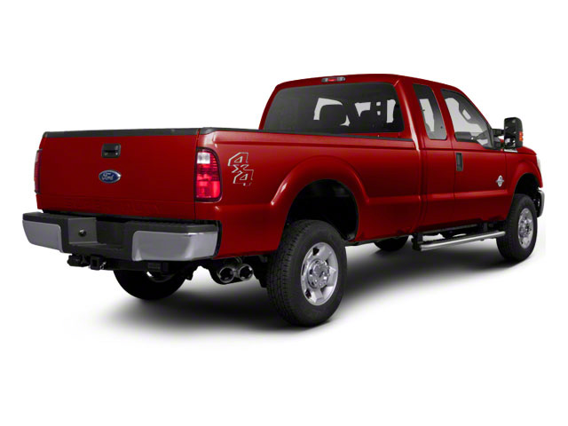 Vermillion Red 2011 Ford Super Duty F-350 DRW Pictures Super Duty F-350 DRW Supercab XLT 2WD photos rear view