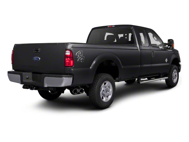 Black 2011 Ford Super Duty F-350 DRW Pictures Super Duty F-350 DRW Supercab XLT 2WD photos rear view