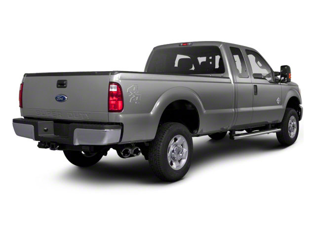 Ingot Silver Metallic 2011 Ford Super Duty F-350 DRW Pictures Super Duty F-350 DRW Supercab Lariat 4WD photos rear view