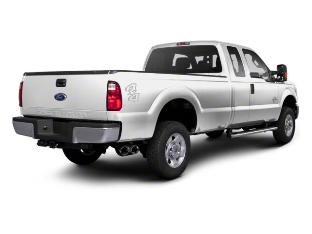 Oxford White 2011 Ford Super Duty F-350 DRW Pictures Super Duty F-350 DRW Supercab Lariat 4WD photos rear view
