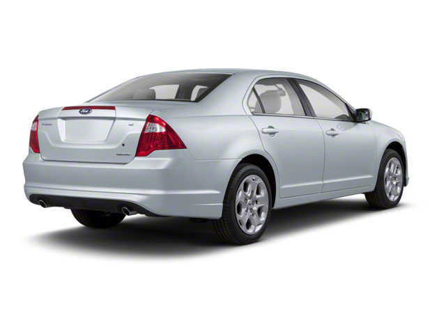 Light Ice Blue Metallic 2011 Ford Fusion Pictures Fusion Sedan 4D Hybrid photos rear view