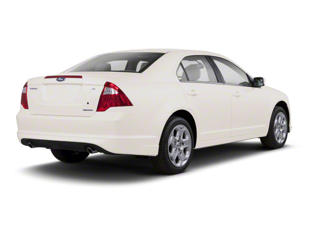 White Platinum Metallic Tri-Coat 2011 Ford Fusion Pictures Fusion Sedan 4D Hybrid photos rear view