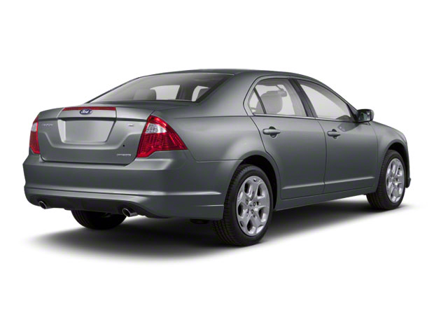 Sterling Gray Metallic 2011 Ford Fusion Pictures Fusion Sedan 4D Hybrid photos rear view