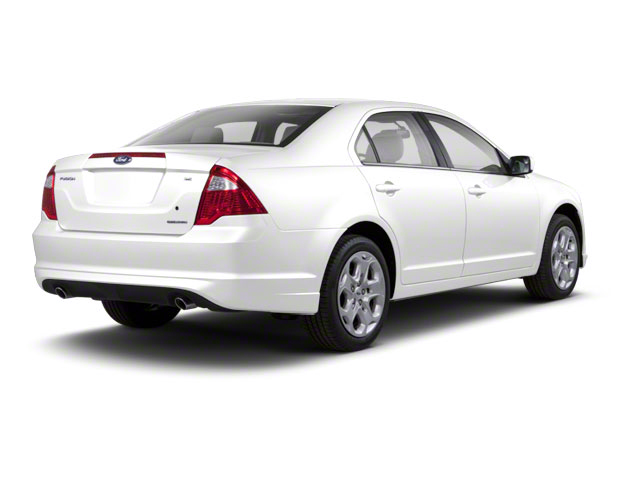 White Suede 2011 Ford Fusion Pictures Fusion Sedan 4D Hybrid photos rear view