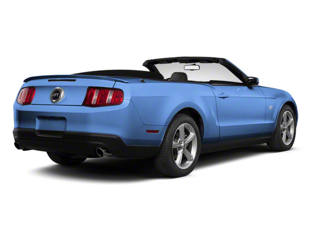 Grabber Blue 2011 Ford Mustang Pictures Mustang Convertible 2D GT photos rear view