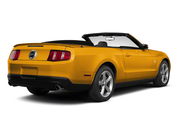 Yellow Blaze Metallic Tri-Coat 2011 Ford Mustang Pictures Mustang Convertible 2D GT photos rear view